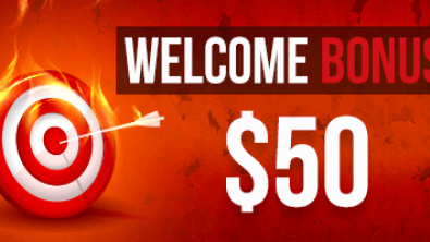 Welcome Bonus 50 USD